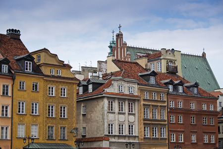 Buildings in Stare Miasto, Warsaw, Poland LANG_EVOIMAGES