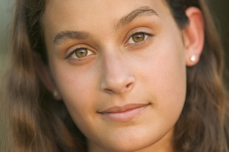 Portrait of Teenage Girl LANG_EVOIMAGES