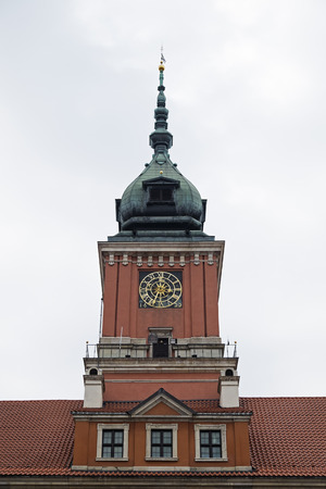 Clock Tower of Royal Castle, Stare Miasto, Warsaw, Poland LANG_EVOIMAGES