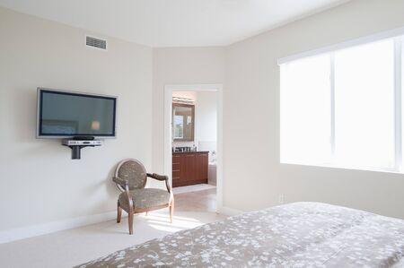 bedspread: Interior of Bedroom LANG_EVOIMAGES