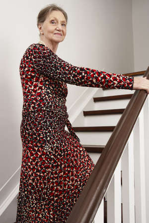 Woman Ascending Stairs