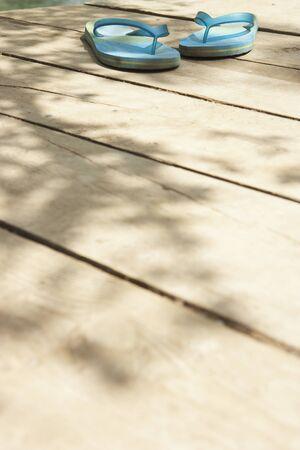 flip flops: Flip Flops on Dock