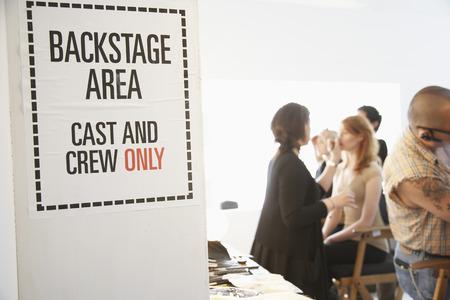 five stars: People Backstage