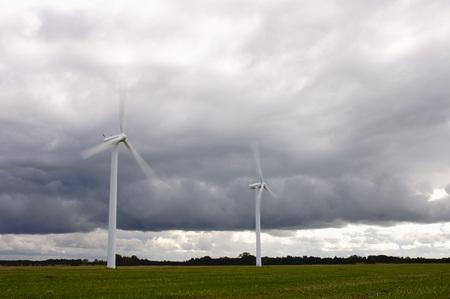 environmental issues: Wind Turbines, Denmark