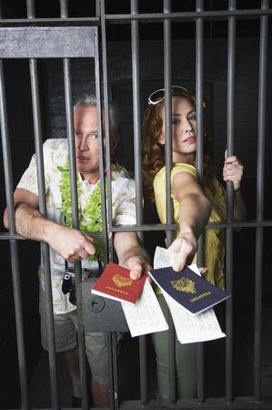 Tourists in Prison