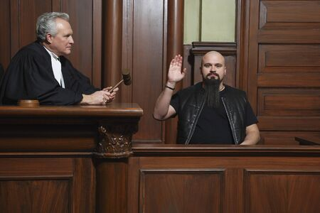 testify: Witness and Judge in Court
