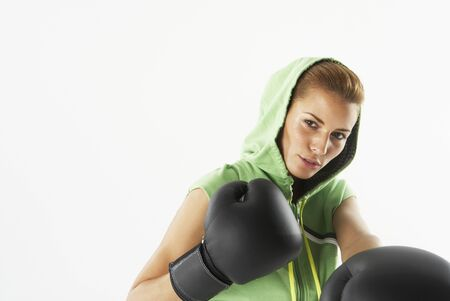 punched out: Woman Boxing LANG_EVOIMAGES