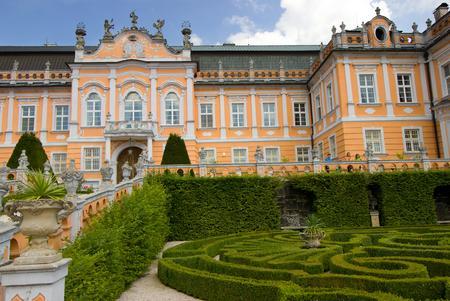 embellished: castle in the Czech republice- New Castle
