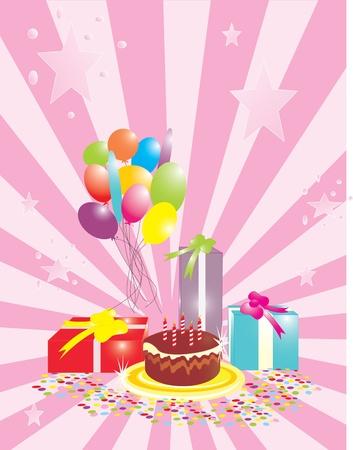 Birthday card Stock Vector - 12827679