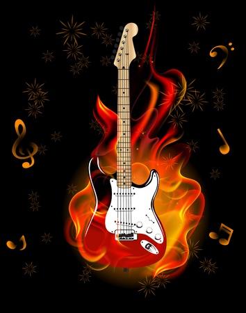 resonancia: la quema de guitarra