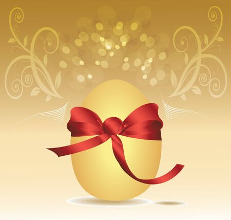gold egg Stock Vector - 13341742