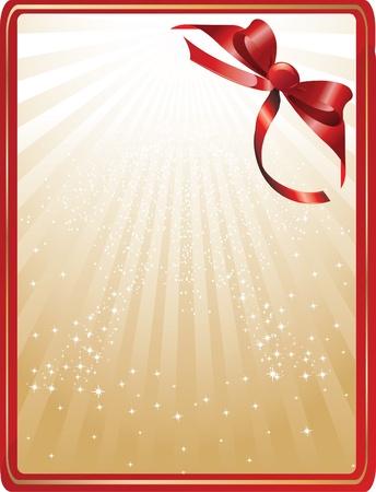 golden card Stock Vector - 12827814