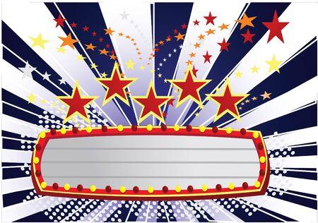show time: movie time dark blue