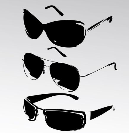 occhiali da sole isolato