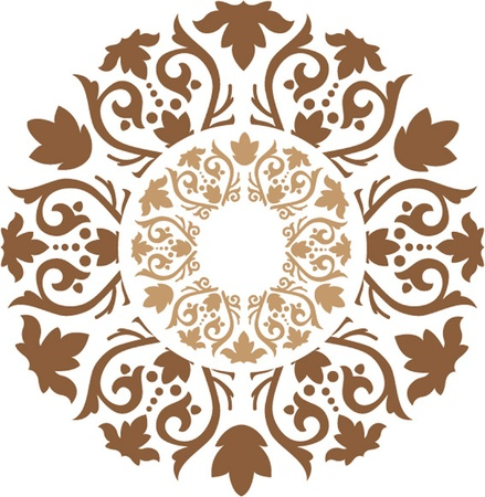 abstract arabesque Vector