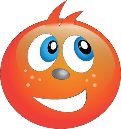 smiling face Vector