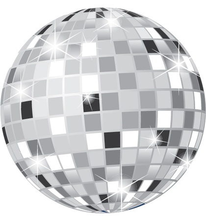 ball lights: disco ball Illustration