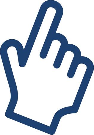 finger index: point finger