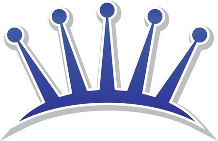 diadem: tiara icon isolated Illustration