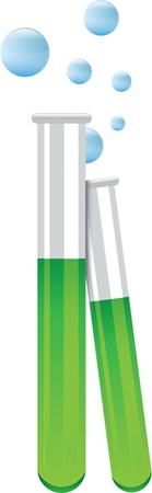 drug test: test tubes