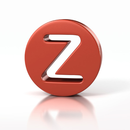 letter Z inside red circle