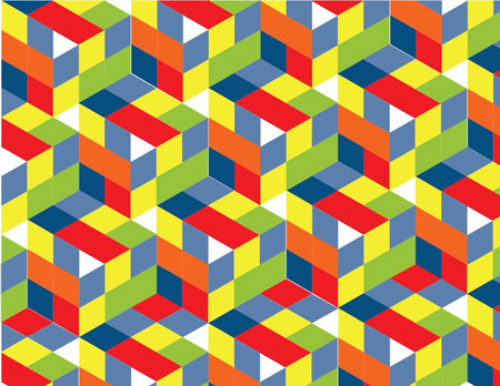 patern: abstract colorful patern Illustration