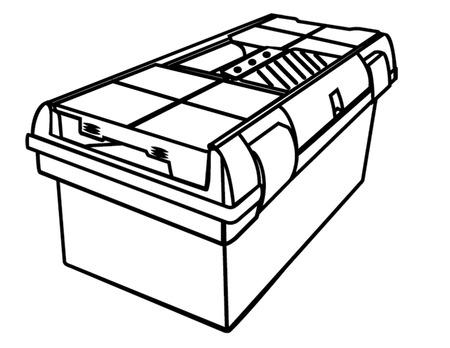 tool box outline