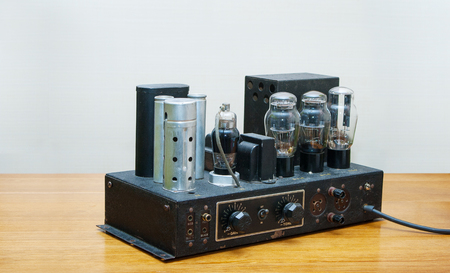 triode: retro tube amplifier