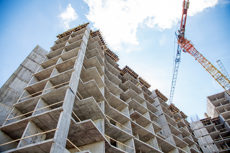residential construction: construction of new residential building