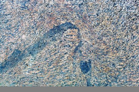 natural gray and blue granite stone background pattern outdoor closeup Reklamní fotografie - 132042568