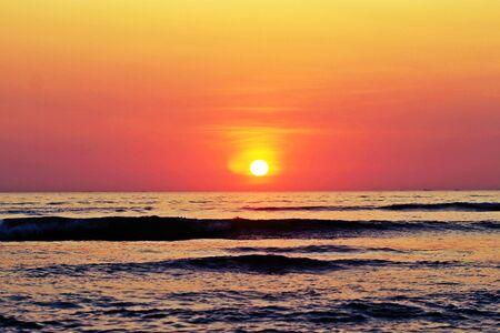 rise: Sun rise on Beach