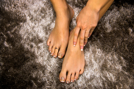 Sexy womens feet and toes