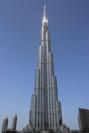 highest building in the world burj knalifa dubai Editorial