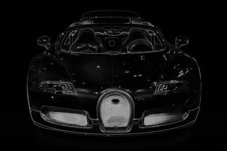 car illustration Stock Illustration - 11321255