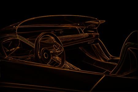 sport car illustration Stock Illustration - 11321254