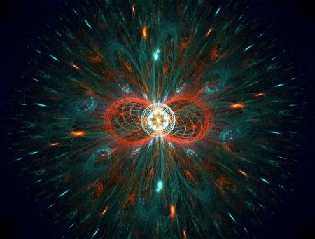 the big bang: The big bang colourful fantasy fractal art
