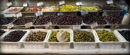 Greek olive market