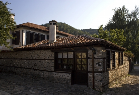 corner house: old bulgarian corner house