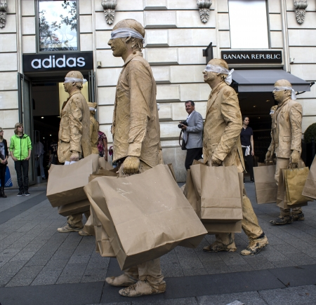 champs elysees: Zombies on champs elysees
