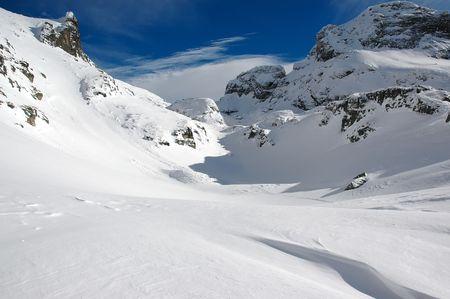 The white mountain