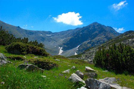 Musala - the highest peak of Bulgaria
