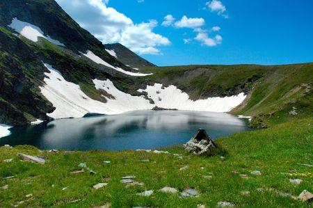 lake The Eye, Rila, Bulgaria