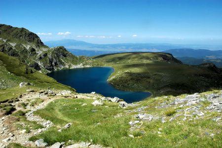 Lake Kidney, Rila Stock Photo