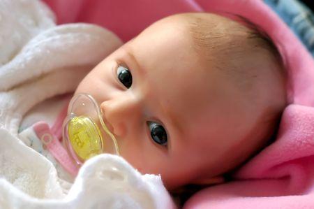 a beautiful baby