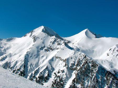 Peak Vihren, Pirin Stock Photo