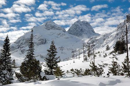 Maliovica in winter photo