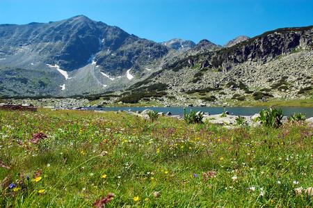 Mountain landscape,peak Musala, Bulgaria