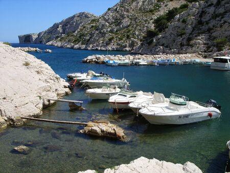 yacht port Stock Photo