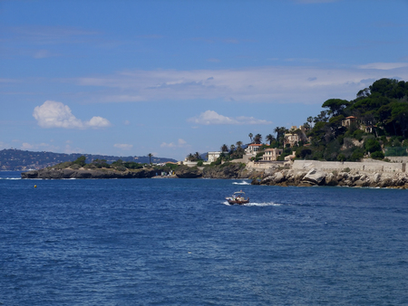 summer landscape of the sea Stock Photo