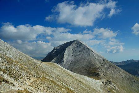 Peak Vihren, Bulgaria Stock Photo
